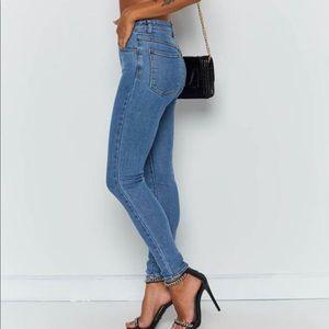"Abrand Jeans ""LA Blues"" high skinny 26"